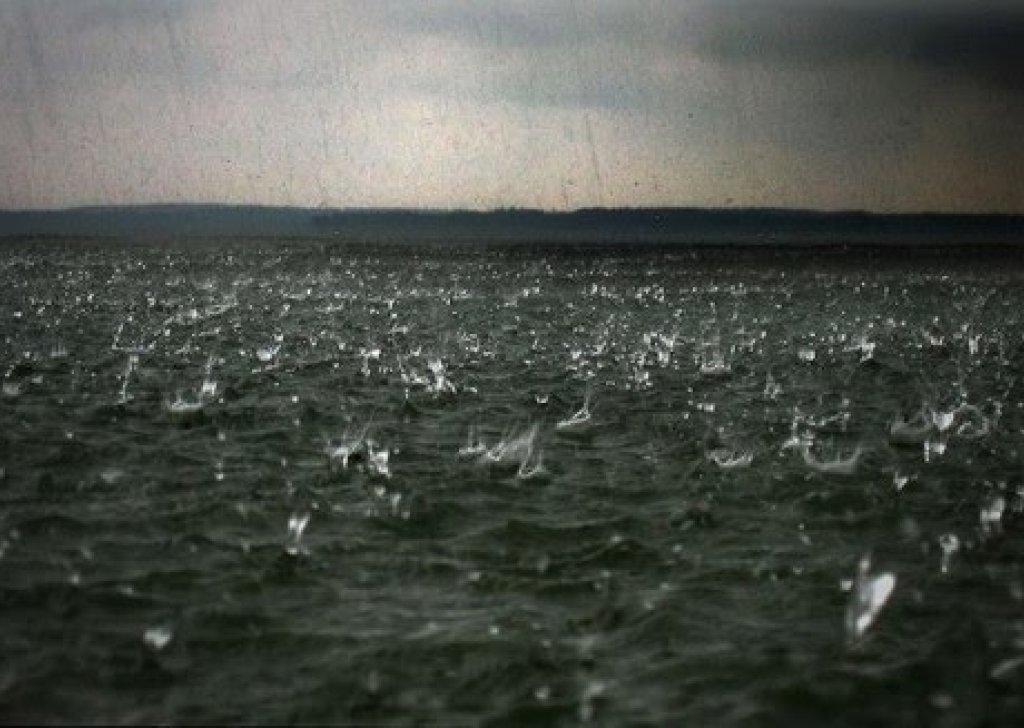 Calming Ocean Rain audio atmosphere